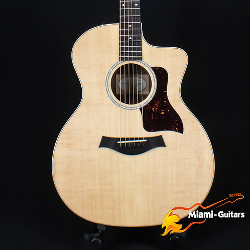Taylor 214ce-FO DLX LTD Figured Ovangkol Limited Edition