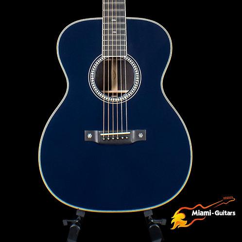 Martin Custom Shop 000-14F Dark Navy Blue Eric Clapton/Fujiwara Inspired