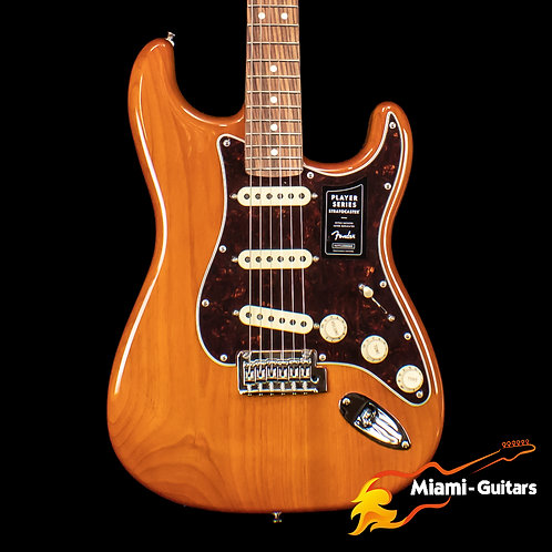 Fender Limited Edition Player Stratocaster Transparent Aged Natural (8756)