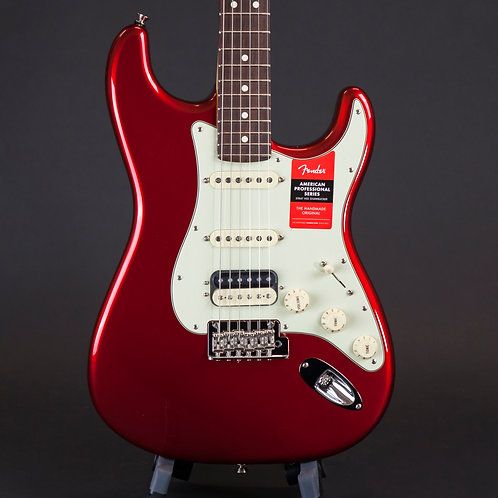 Fender American Professional Stratocaster HSS, Rosewood neck, Candy Apple Red