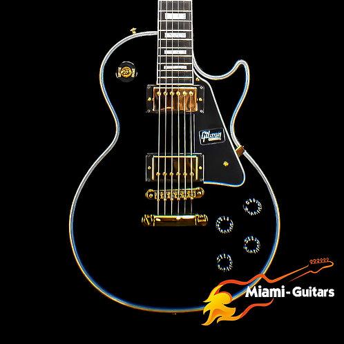 Gibson Custom Les Paul Custom - Ebony w/ Ebony Fingerboard (1280)