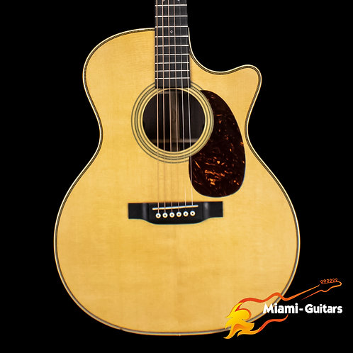 Martin GPC-28E Natural with Fishman Aura VT Enhance Electronics (1754)