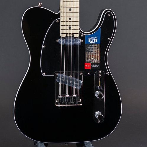 Fender American Elite Telecaster 2018 Mystic Black with Maple Fingerboard