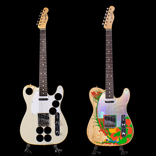 Fender Custom Shop Paul Waller Masterbuilt Jimmy Page Mirror and Dragon Telecast