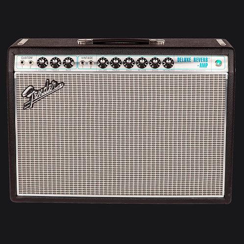 Fender '68 Custom Deluxe Reverb 22W 1x12 Tube Combo Amp