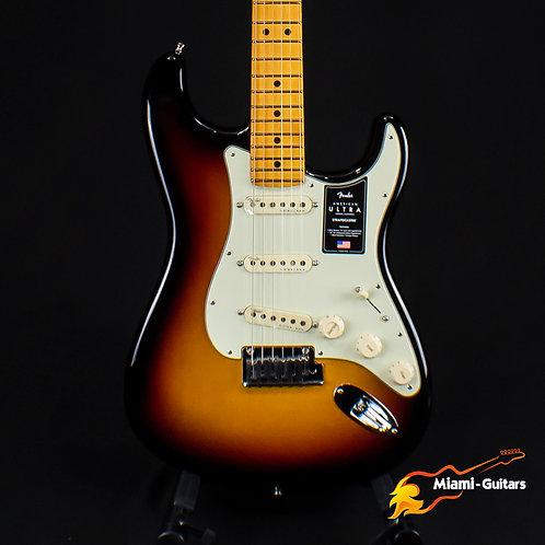 Fender American Ultra Stratocaster - Ultraburst with Maple Fingerboard