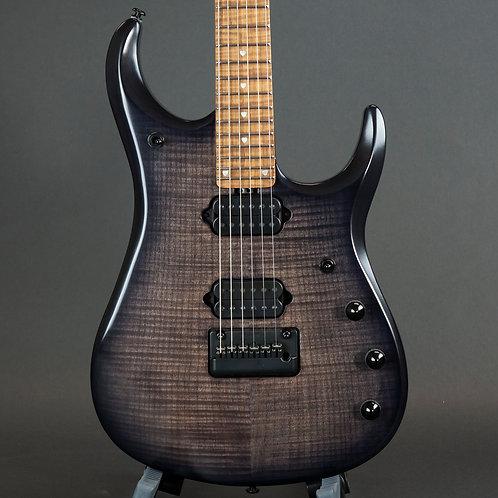 Ernie Ball Music Man John Petrucci JP15 Flame Maple Top - Trans Black Trans Blac