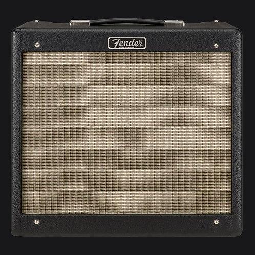Fender Hot Rod Blues Junior IV Guitar Combo Amplifier (1x12 Inch, 15 Watts), Bla