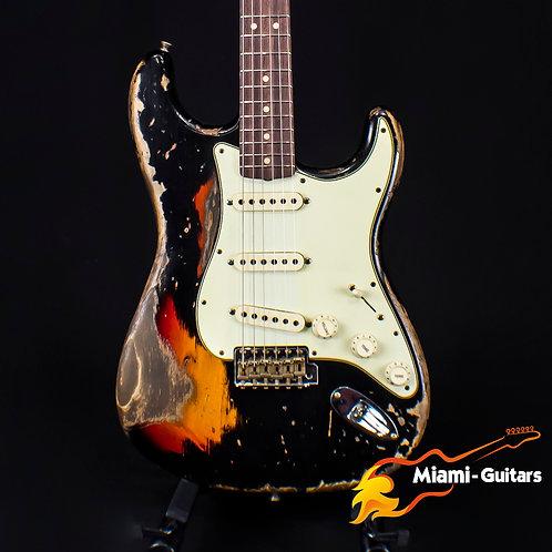 Fender Custom Shop 2019 NAMM Limited 63 Strat Super Heavy Relic