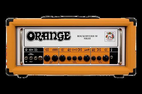 Orange Rockerverb 50 MKIII 50W Tube Guitar Head