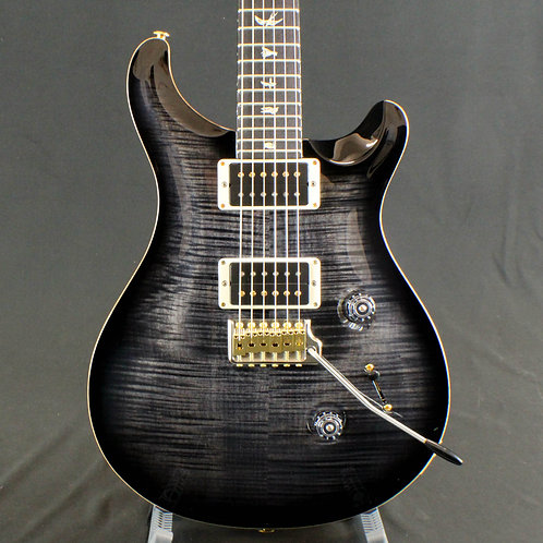 PRS Custom 24 10 Top, Grey Custom Color