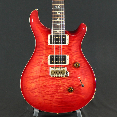 PRS Custom 24 10 Top, Pattern Thin, Blood Orange