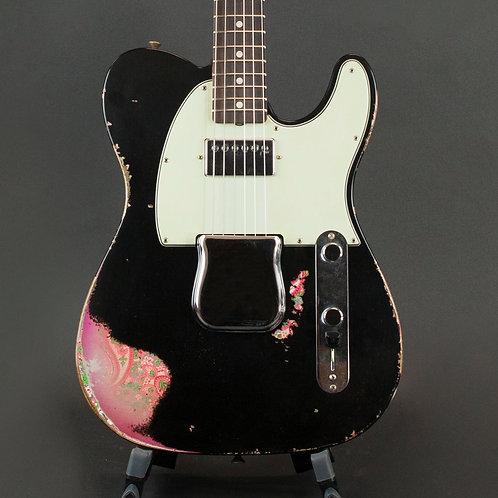 Fender Cust Shop Ltd Edition Hvy Relic H/S 60's Telecaster - Aged Black