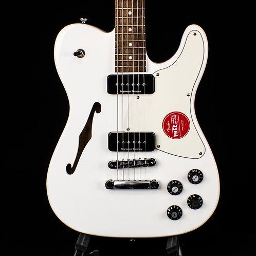 Fender Jim Adkins JA-90 Telecaster Thinline White with Indian Laurel Fingerboard