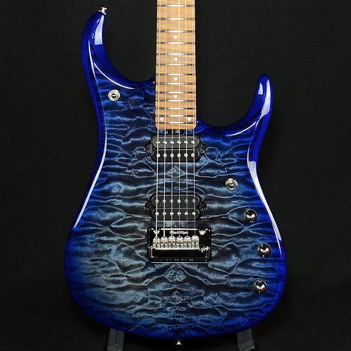 Ernie Ball Music Man JP15 Quilt Top Electric Guitar Cerulean Paradise (G97997)