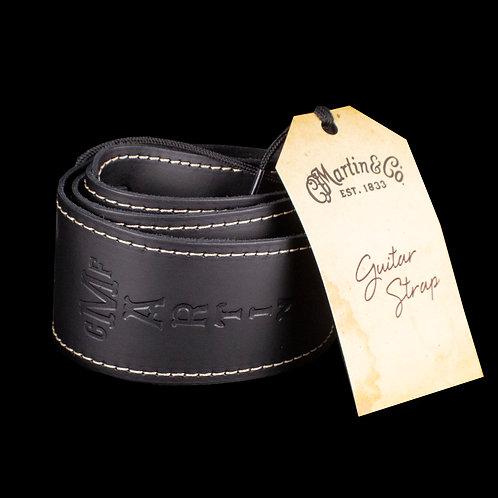 Martin Extendable Black Slim Style Guitar Strap 18A0046