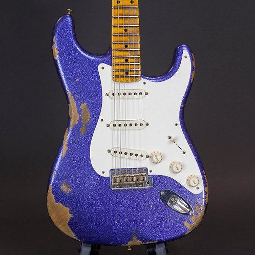 Fender 1957 Stratocaster Heavy Relic 2018 Purple Sparkle