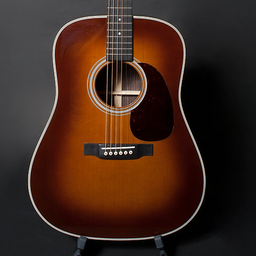 Martin D-28 Ambertone with Sitka Spruce Top, East Indian Rosewood Back and Sides