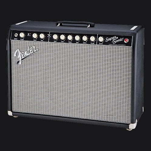 "Fender Super-Sonic 22 Guitar Combo Amplifier (22 Watts, 1x12""), Black"