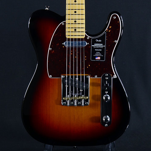 Fender American Professional II Telecaster Maple Fingerboard Sunburst (US2004477