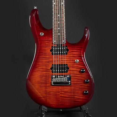 Ernie Ball Music Man John Petrucci 6 Dragon Blood Flame Flame Maple Top G97894