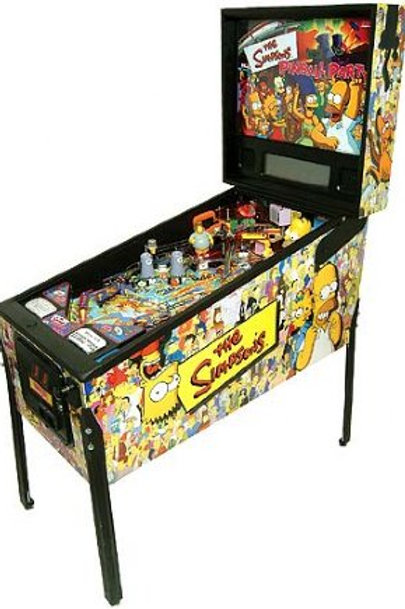 "Пинбол Б\У ""Симпсоны"" /Pinball ""The Simpsons Pinball Party"""