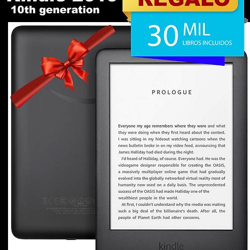 Kindle 2019 10th generation + Regalo estuche + 30 mil libros