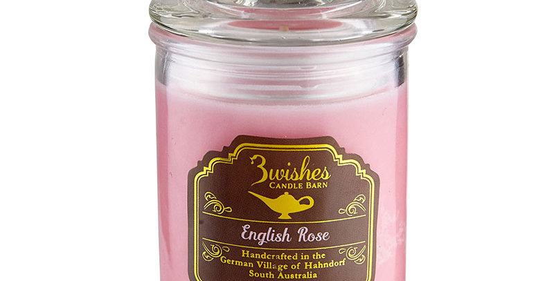 Rose Geranium - Small 20 hour Aromatherapy candle