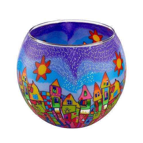 Bright Town Tea-Light Bowl
