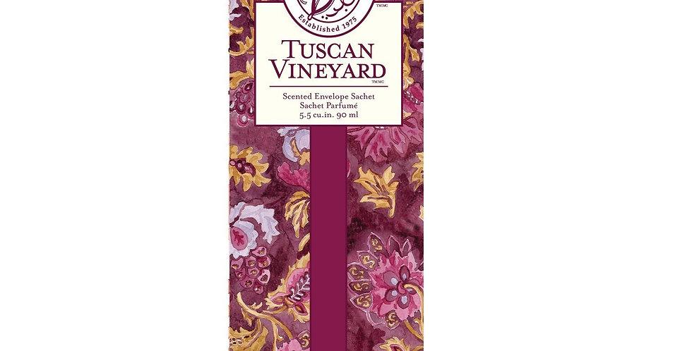 Tuscan Vineyard - Slim Scented Sachet
