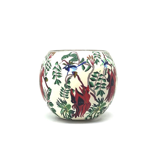 Sturt's Desert Pea Tea-light Bowl - Australian Wildflower Collection