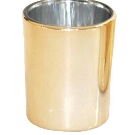 Gold Glass Votive Holder
