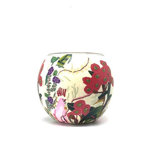 Flowering Gum Tea-light Bowl - Australian Wildflower Collection