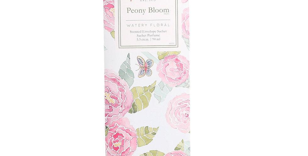 Peony Bloom - Slim Scented Sachet