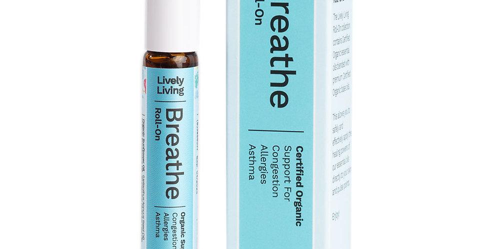 Breathe - Certified Organic Roll-On Oil
