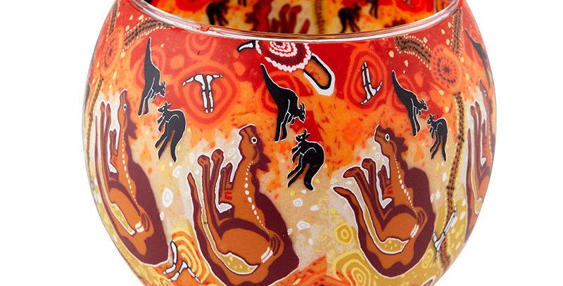 Kangaroos Tea-Light Bowl