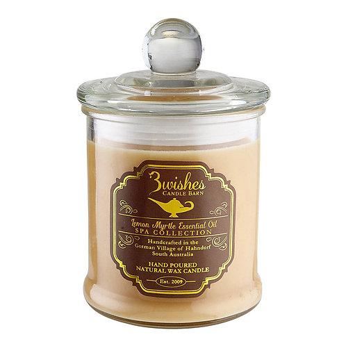 Lemon Myrtle - Large 80 hour Aromatherapy candle