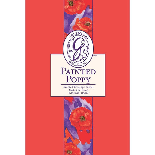 Painted Poppy - Large Scented Sachet