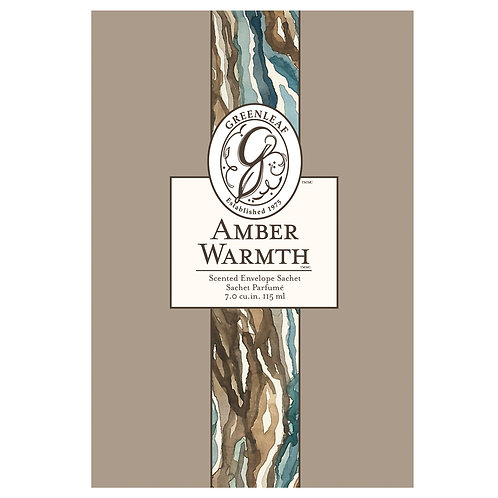 Amber Warmth - Large Scented Sachet