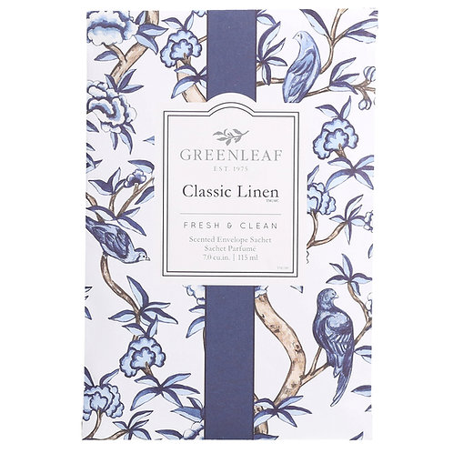 Classic Linen - Large Scented Sachet