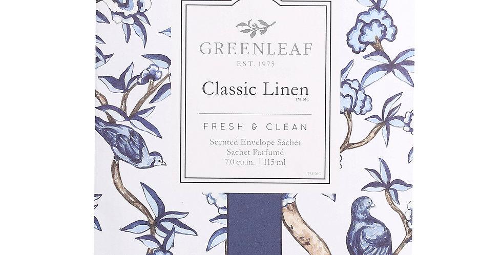 Classic Linen - Large Scented Sachet