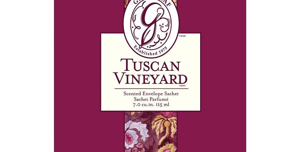 Tuscan Vineyard - Large Scented Sachet