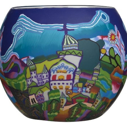 Neuschwanstein Castle Tea-Light & Votive Bowl - European Collection
