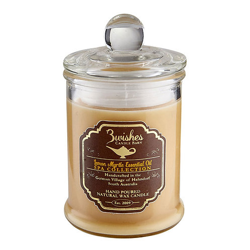 Lemon Myrtle - Small 20 hour Aromatherapy candle