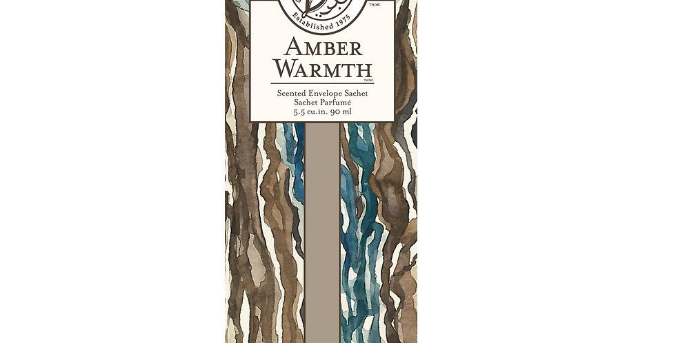 Amber Warmth - Slim Scented Sachet
