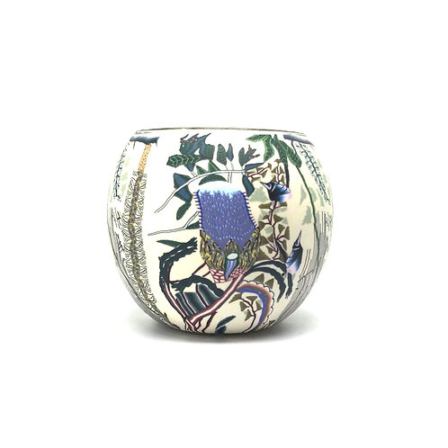 Banksia Tea Light Bowl - Australian Wildflower Collection