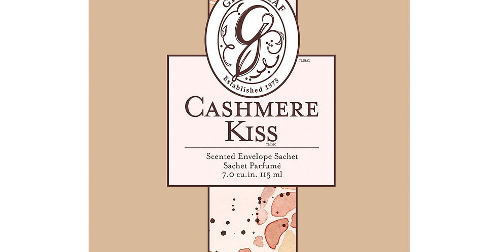 Cashmere Kiss - Large Scented Sachet