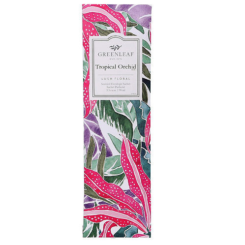 Tropical Orchid - Slim Scented Sachet