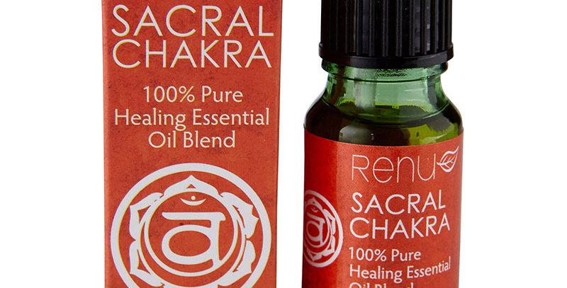 Sacral Chakra 100% Pure Essential Oil - 10ml