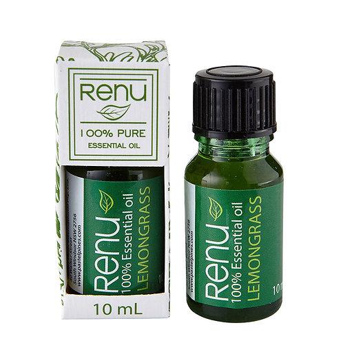100% Pure Lemongrass Essential Oil - 10ml